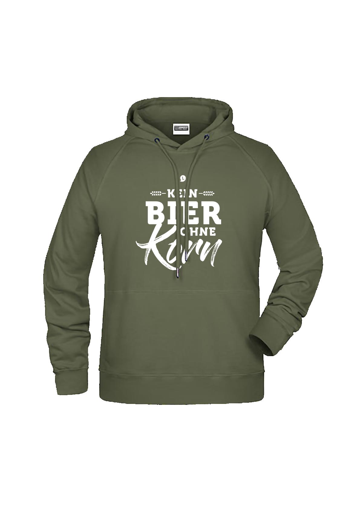 """Hoodie """"Kein Bier ohne Korn"""""""