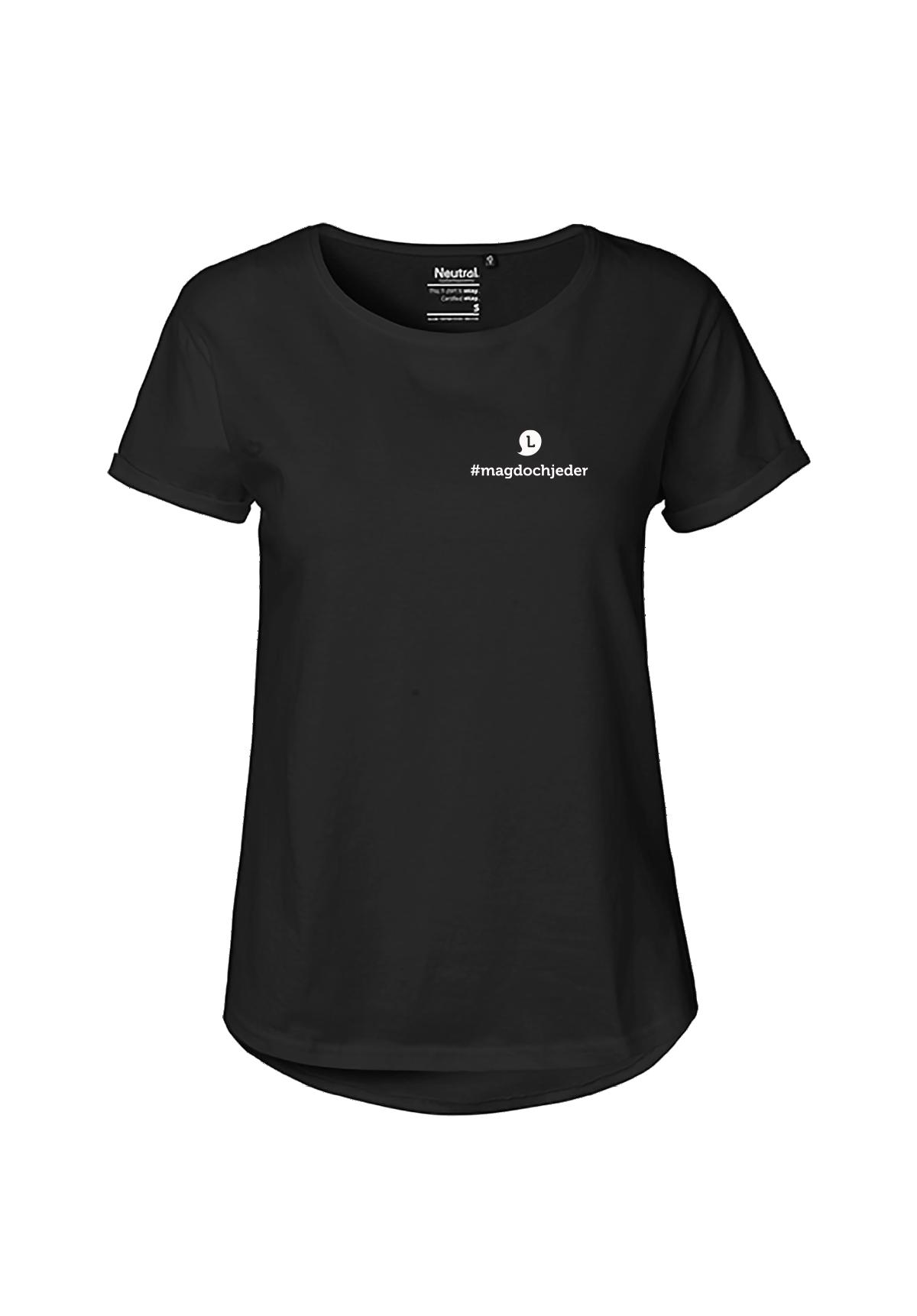 Damen T-Shirt #magdochjeder