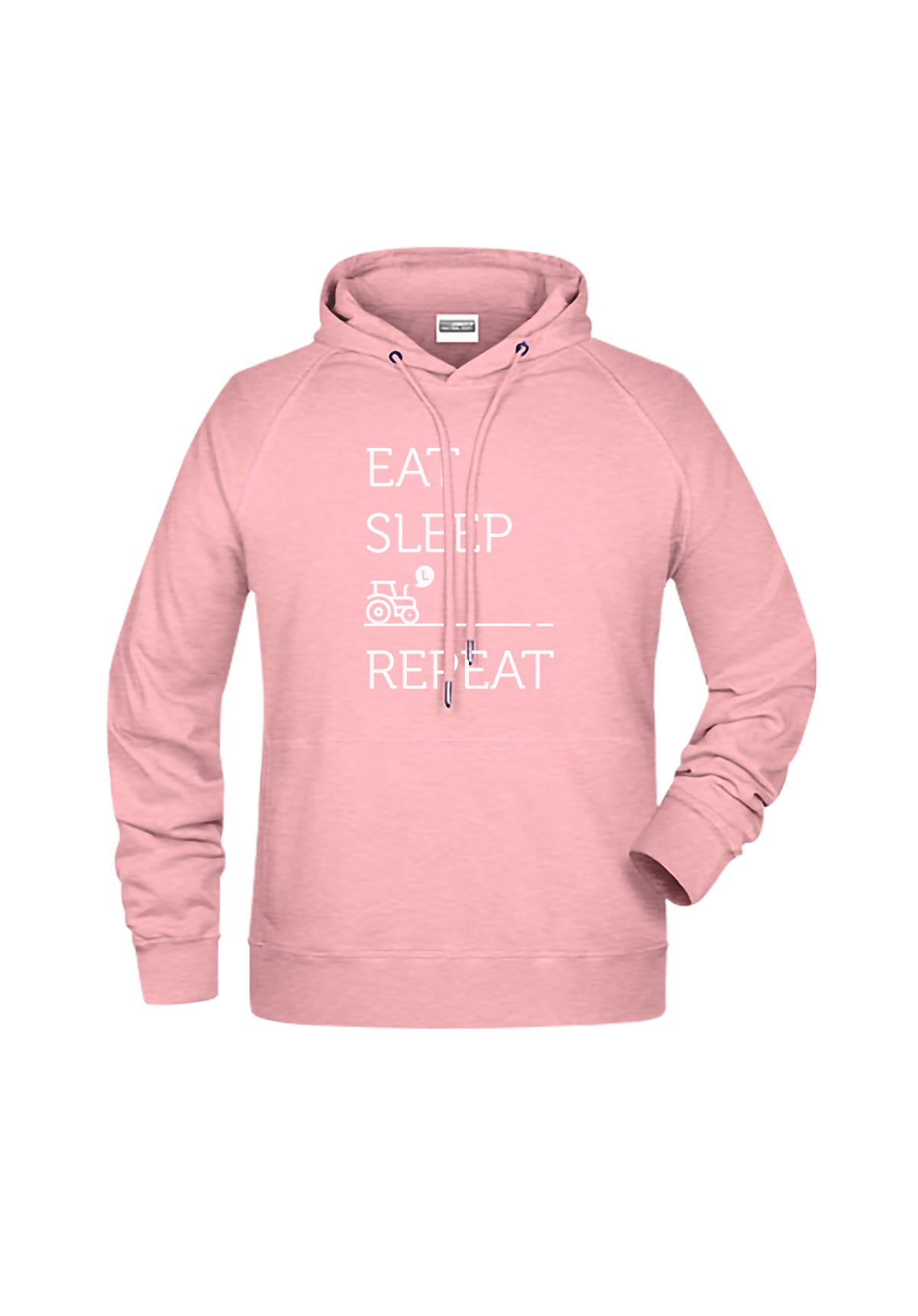 "Hoodie ""Eat sleep repeat"""