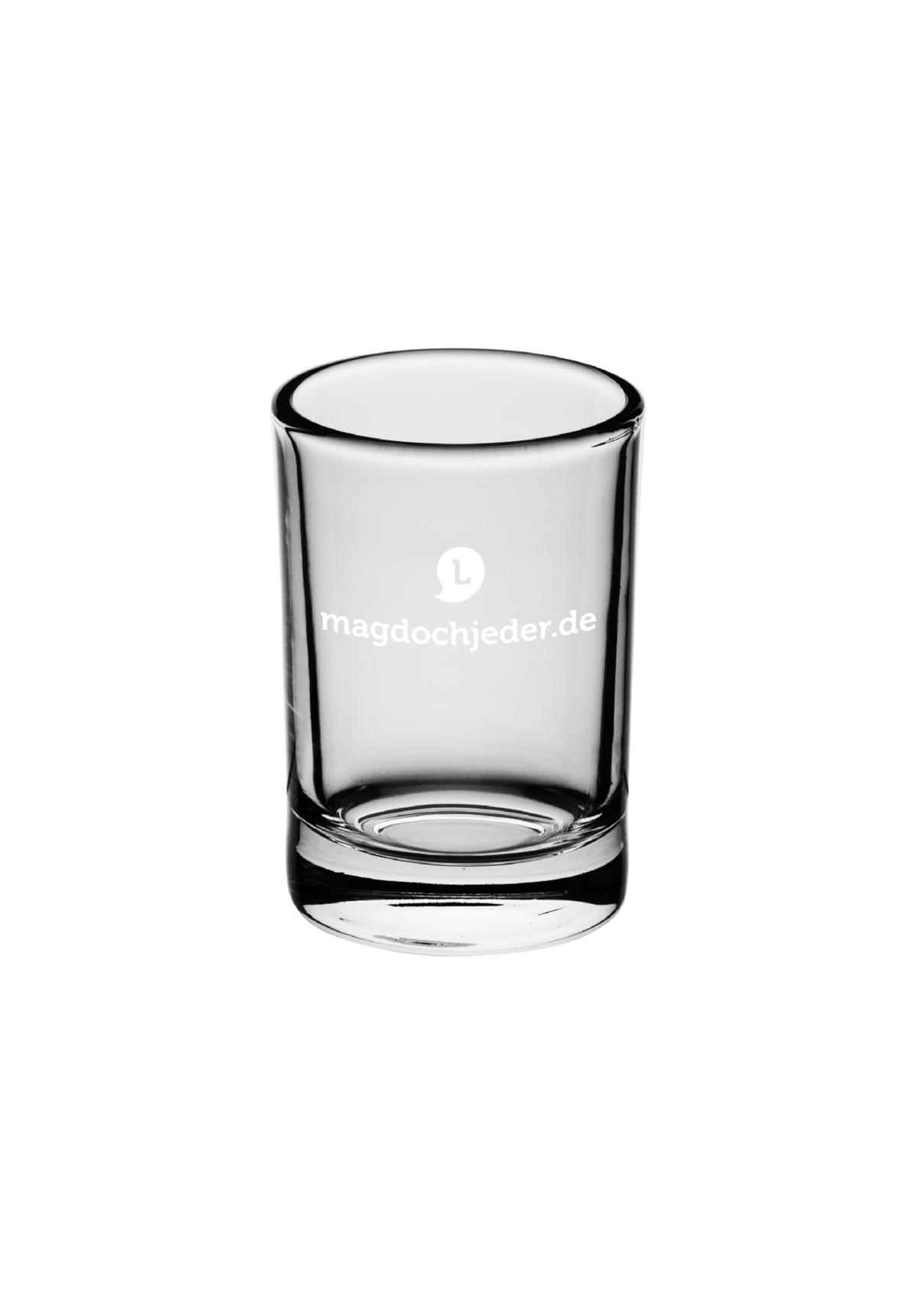 "Schnapsglas ""Noch'n Hektar Korn"""