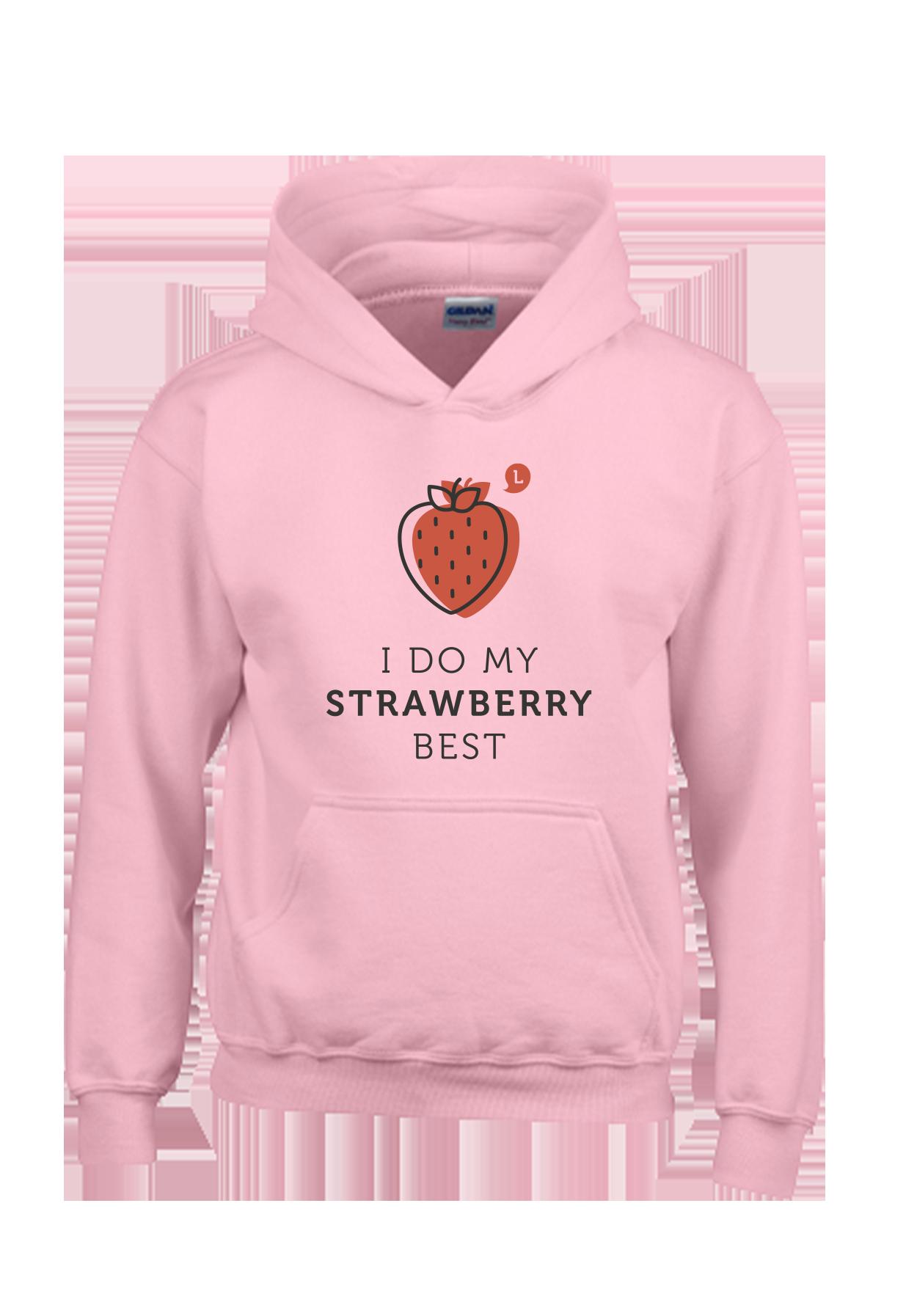 Kids Hoody Erdbeere