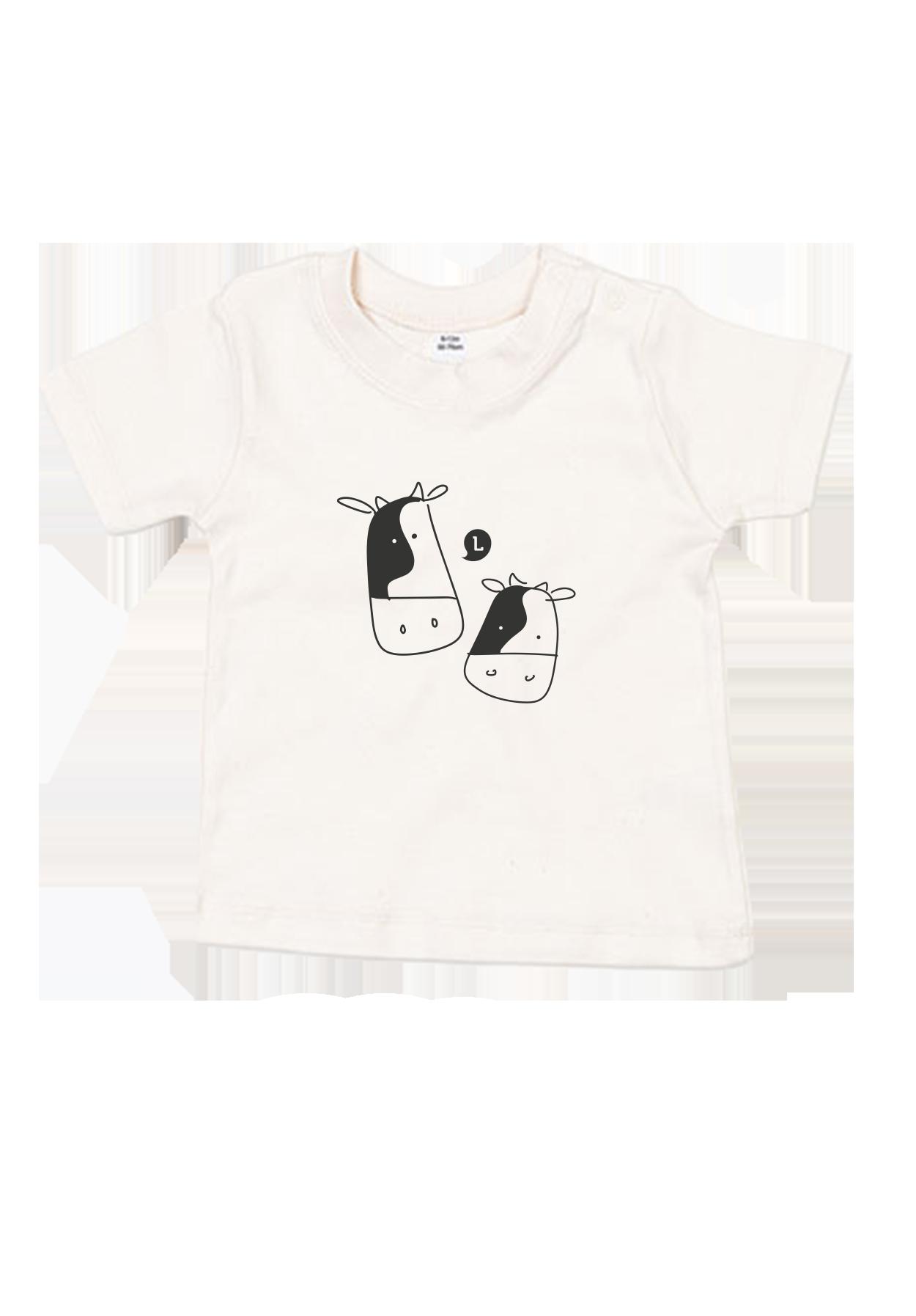 Baby T-Shirt Kühe